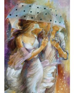 Puzzle din lemn Art Puzzle - Lena Sotskova: One Day in May, 1.000 piese (Art-Puzzle-4435)