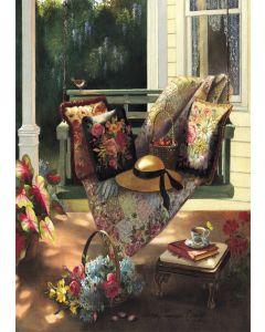 Puzzle din lemn Art Puzzle - Summer Shade, 1.000 piese (Art-Puzzle-4440)