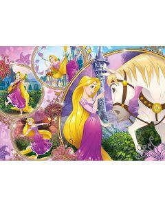 Puzzle de podea Clementoni - Disney Princess, 24 piese XXL (60791)