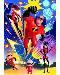 Puzzle Clementoni - Disney Pixar - The Incredibles 2, 250 piese (29056)