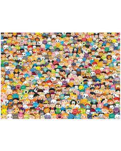 Puzzle Clementoni - Disney Tsum Tsum - Impossible Puzzle!, 1.000 piese dificile (58414)