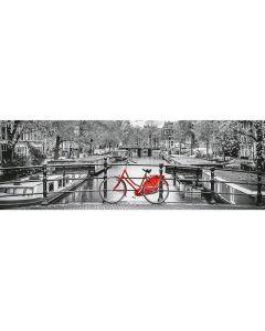 Puzzle panoramic Clementoni - Amsterdam, 1.000 piese (62417)