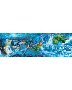 Puzzle panoramic Clementoni - Peter Pan, 1.000 piese (62422)