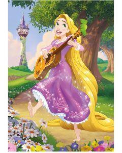 Puzzle Dino - Diamond Puzzle - Disney Princess, 200 piese (62915)