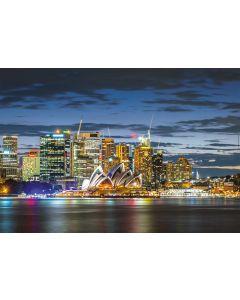 Puzzle Educa - Sydney City Twilight, 1000 piese, include lipici puzzle (17106)