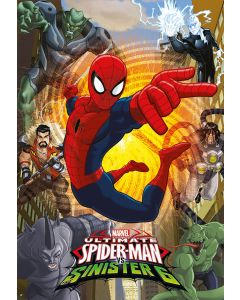 Puzzle Educa - Spider-Man, 500 piese, include lipici puzzle (17155)