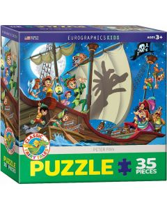 Puzzle Eurographics - Peter Pan, 35 piese (53324)