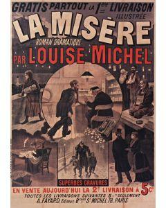 Puzzle Grafika - La Misere de Louise Michel, 1880, 1.000 piese (45558)