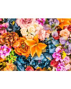 Puzzle Grafika - Artificial Bunch of Vintage Flowers, 2.000 piese (51699)