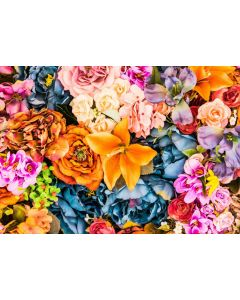 Puzzle Grafika - Artificial Bunch of Vintage Flowers, 1.000 piese (51700)