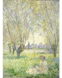 Puzzle Grafika - Claude Monet: Woman Seated under the Willows, 1880, 300 piese (55191)