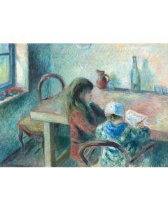 Puzzle Grafika - Camille Pissarro: The Children, 1880, 2.000 piese (56840)