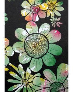 Puzzle Grafika - Doodle Flowers, 1.000 piese (57292)
