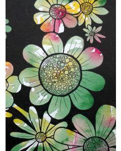Puzzle Grafika - Doodle Flowers, 300 piese (57293)