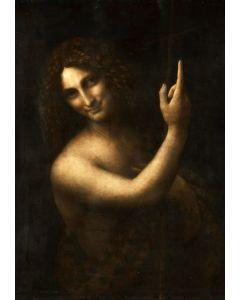 Puzzle Grafika - Leonard de Vinci: Saint Jean-Baptiste, 1513, 1.000 piese (58909)