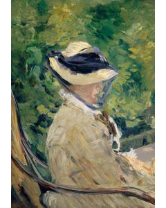 Puzzle Grafika Kids - Edouard Manet: Madame Manet at Bellevue, 1880, 100 piese (51601)