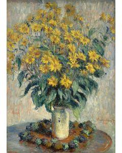 Puzzle magnetic Grafika Kids - Claude Monet: Jerusalem Artichoke Flowers, 1880, 24 piese (55187)