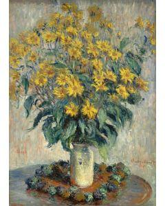 Puzzle Grafika Kids - Claude Monet: Jerusalem Artichoke Flowers, 1880, 24 piese (55188)