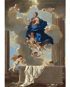 Puzzle Grafika Kids - Nicolas Poussin: The Assumption of the Virgin, 1630/1632, 100 piese (55834)
