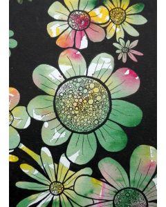 Puzzle Grafika Kids - Doodle Flowers, 24 piese (57295)