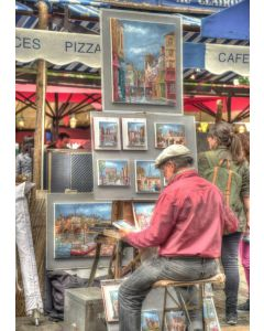 Puzzle Grafika - Street Artist, Paris, France, 2.000 piese (63435)