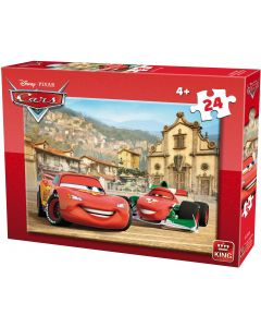 Puzzle King - Cars, 24 piese (king-Puzzle-05245-B)