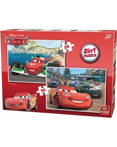 Puzzle King - Cars, 24/50 piese (05415)