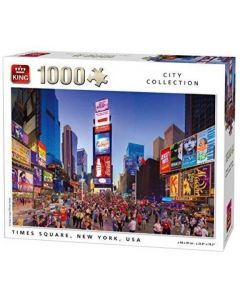 Puzzle King - Times Square, New York, 1.000 piese (05707)