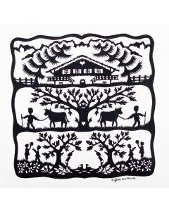 Puzzle din lemn Michele Wilson - Alm, 30 piese (48150)