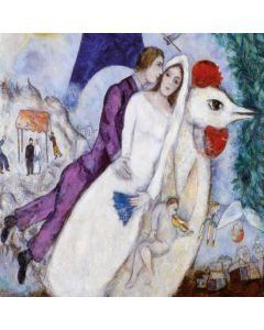 Puzzle din lemn Michele Wilson - Marc Chagall, 30 piese (54291)