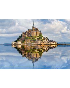 Puzzle Ravensburger - Muntii Saint Michel, 1.000 piese (19647)