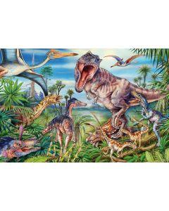 Puzzle Schmidt - Intre dinozauri, 60 piese (56193)