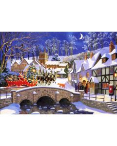 Puzzle The House of Puzzles - Christmas Collectors Edition No.2 - Special Delivery, 1.000 piese (56675)