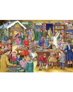 Puzzle The House of Puzzles - Christmas Collectors Edition No.9 - Christmas Treats, 500 piese (56799)