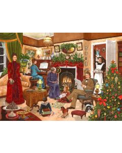 Puzzle The House of Puzzles - Christmas Collectors Edition No.12 - Christmas Past, 500 piese (60658)