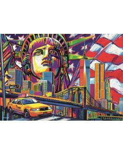 Puzzle Trefl - Colours of New York, 1.000 piese (10523)