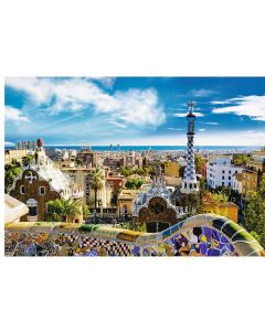 Puzzle Trefl - Park Guell, Barcelona, 1.500 piese (64865)