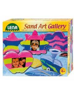 Joc creatie Lena rama foto joc cu nisip