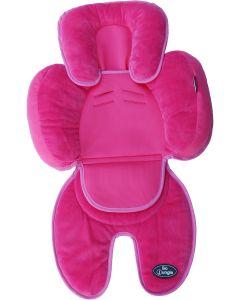 Saltea suplimentara bebelusi BO Jungle 3 in 1 pentru carucior, scaun auto, scoica, Roz