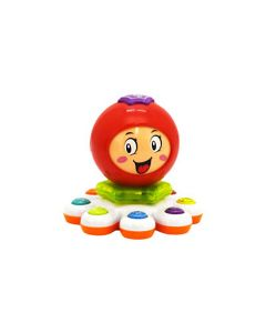 Jucarie pentru bebelusi Caracatita, Globo Vitamina G, cu lumini, sunete si melodii