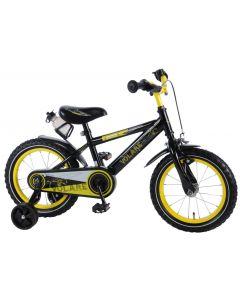 Bicicleta Volare pentru baieti 14 inch, cu roti ajutatoare, 95% asamblata, Freedom