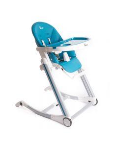 Scaun de masa Bo Jungle pentru copii, reglabil pe inaltime,  Albastru