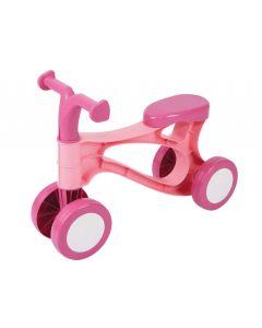 Tricicleta fara pedale pentru copii Lena 07166 din plastic Roz