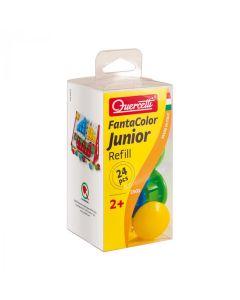 Set 24 butoni de rezerva pentru tablita mozaic Quercetti Fantacolor Junior