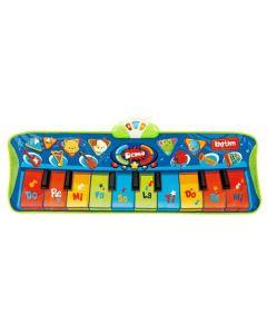 Covoras muzical cu 10 clape Winfun pentru copii