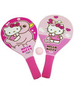 Set Saica Palete din lemn pentru plaja, cu minge, Hello Kitty