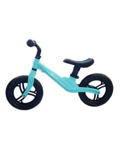 Bicicleta fara pedale Skillmax, 12 inch, pentru copii, Blue, foarte usoara, 2 kg, inaltime reglabila, roti EVA, cadru magneziu