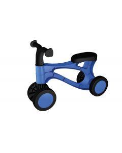 Vehicul fara pedale Lena 07168 din plastic Albastru cu Negru