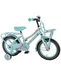"""Bicicleta pentru fete 14"""" inch, cu roti ajutatoare, Volare Tattoo"""