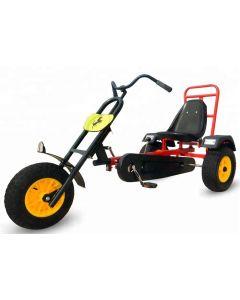 Kart cu pedale Dodo FTF 150-1 cu  un loc, cu pedale pentru copii si juniori,roti din cauciuc gonflabile